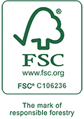 FSC certified papers and printers